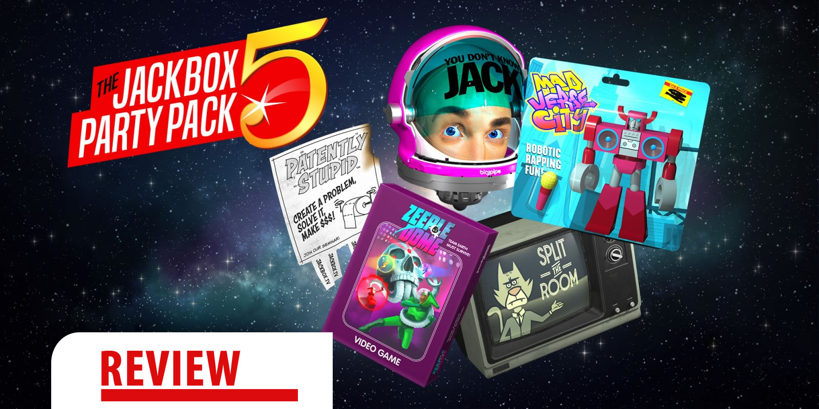 Review: The Jackbox Party Pack 5